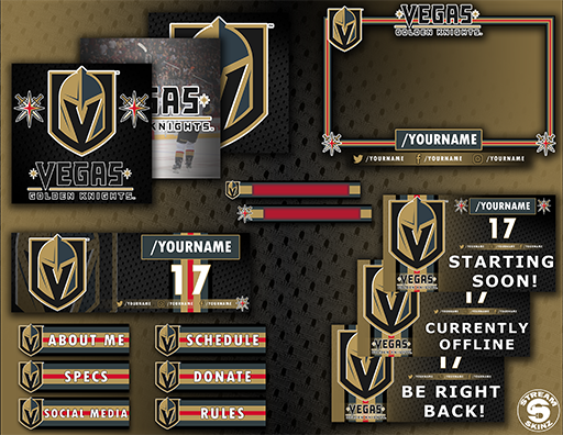 Vegas Golden Knights Package